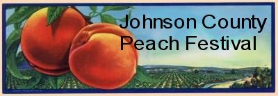 Johnson County Peach Festival logo