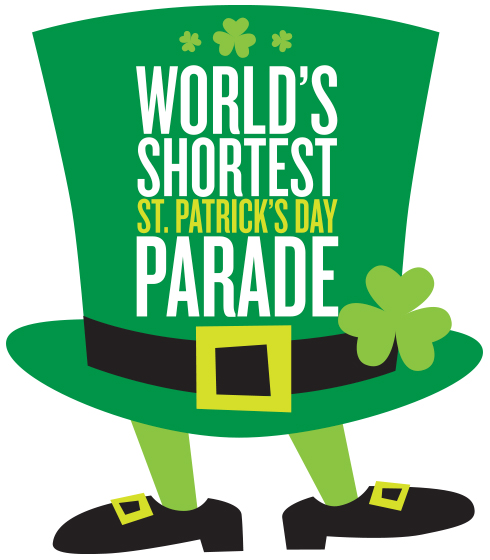 14th Annual World's Shortest St. Patrick's Day Parade