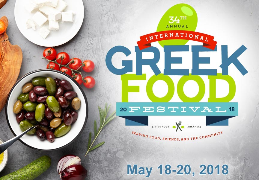 Little Rock International Greek Food Festival 2018