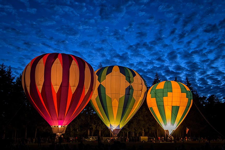 Arkansas Hot Air Balloon State Championship 2018