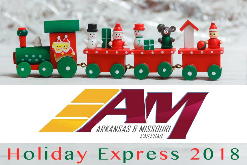 A&M Railroad Holiday Express Train 2018