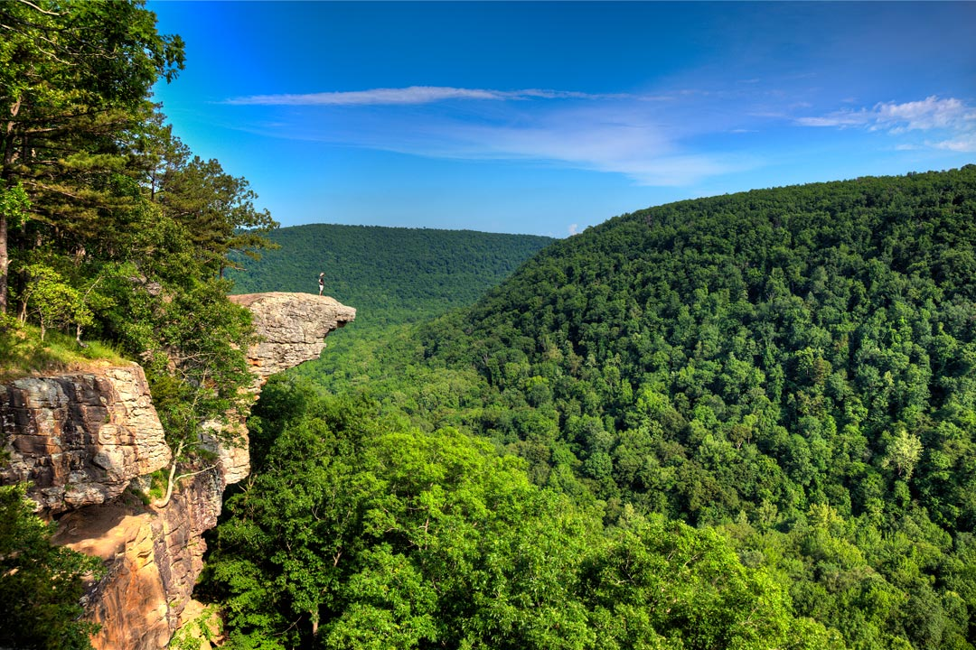 Hawksbill Crag aka Whitaker Point Arkansas