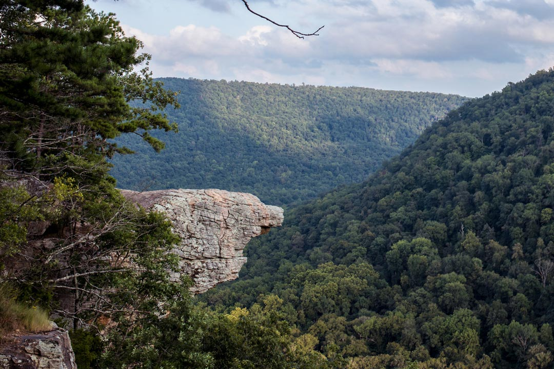 Hawksbill Crag aka Whitaker Point