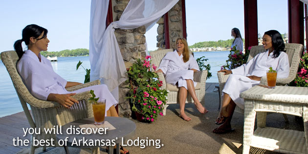 you will discover the best of Arkansas' lodging.